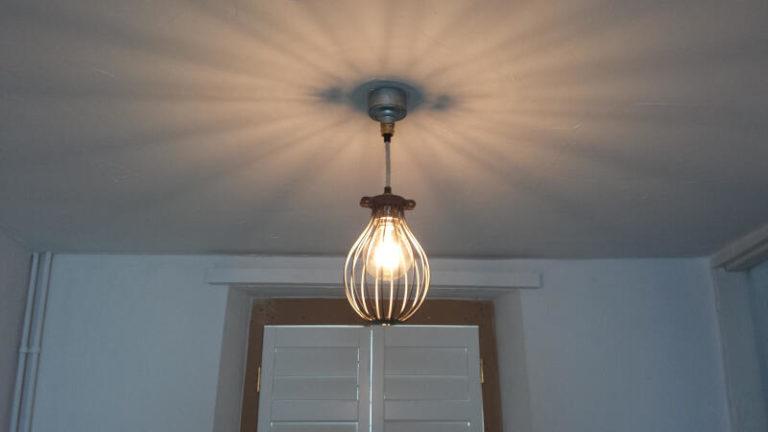 Custom bespoke ceiling light fixture